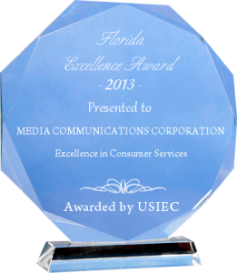media communications corp award