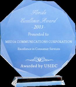media communications corp award